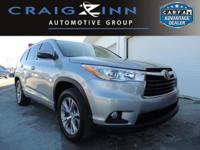 CarFax 1-Owner, This 2014 Toyota Highlander XLE will
