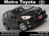 Only 1k Miles, One Owner, Clean CARFAX! 53 mpg! CVT