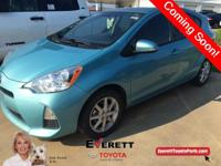 2014 Toyota Prius c One Blue. Toyota Certified, 1.5L