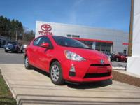 2014 Toyota Prius c Certified. CARFAX One-Owner.