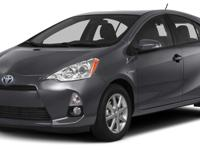Options:  2014 Toyota Prius C Four|Beat Down The Pain