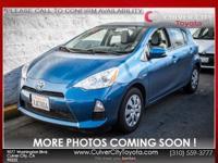 Options:  2014 Toyota Prius C One Blue 5J X 15 Steel