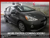 Options:  2014 Toyota Prius C One Gray Toyota