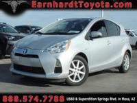 We are delighted to offer you this 2014 Toyota Prius C
