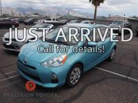 Certified. **One Owner**, -Clean Carfax-, Prius c Two,