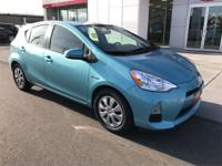 Options:  2014 Toyota Prius C Two|This