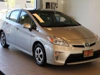 This 2014 Toyota Prius Five is equipped with: