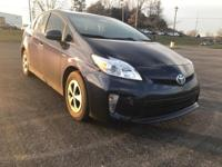 CARFAX One-Owner. Clean CARFAX. Blue 2014 Toyota Prius