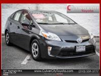 Options:  2014 Toyota Prius Four|Gray|Carfax One