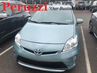 CARFAX One-Owner. Light Blue 2014 Toyota Prius Three