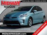 2014 Toyota Prius Two Sea Glass Pearl 1.8L 4-Cylinder