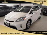 Options:  2014 Toyota Prius Plug-In Advanced|White| Jim