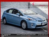 Options:  2014 Toyota Prius Plug-In Blue Toyota