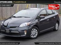 This 2014 Toyota Prius Plug-In 4dr Hatchback features a