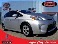 Clean CARFAX. TOYOTA CERTIFIED, BALANCE OF FACTORY