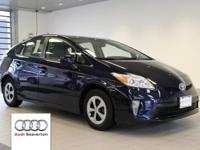 This 2014 Toyota Prius Three is equipped with front