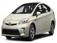 Options:  2014 Toyota Prius Three|This 2014 Toyota