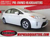 2014 Toyota Prius Three. One owner, clean condition and