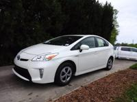 CERTIFIED TOYOTA PRIUS III MODEL WITH NAVIGATION. ONE
