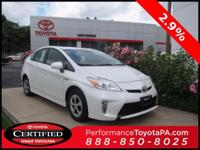 2014 Toyota Prius Certified. CARFAX One-Owner. Odometer