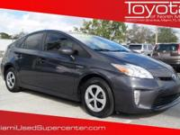 Options:  2014 Toyota Prius Two|White|Carfax One-Owner.