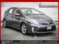 Options:  2014 Toyota Prius Two|Gray|Carfax One Owner.