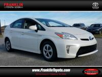 Prius Two. Hybrid! Save the Planet! In a class by
