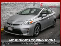 Options:  2014 Toyota Prius Two|Silver|Toyota Certified