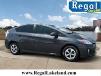 Grey 2014 Toyota Prius Two FWD CVT 1.8L 4-Cylinder DOHC