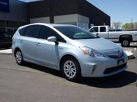 CARFAX One-Owner. Clean CARFAX. 2014 Toyota Prius v FWD