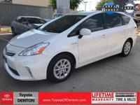 CARFAX One-Owner. Clean CARFAX. White 2014 Toyota Prius