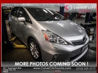 Options:  2014 Toyota Prius V Five|Silver|Toyota