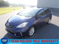 This outstanding example of a 2014 Toyota Prius v 5dr
