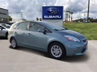 2014 Toyota Prius v Five Green CARFAX One-Owner. Clean