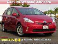 Options:  2014 Toyota Prius V|Red|Check Out This 2014