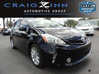 PREMIUM & KEY FEATURES ON THIS 2014 Toyota Prius v