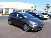 Options:  2014 Toyota Prius V Two|Gray|6.5J X 16