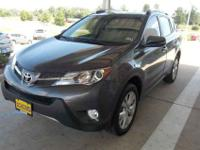 Leather and Navigation. RAV4 Limited. Like new. Fuel