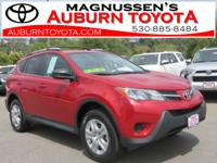 AWD and LOW MILEAGE! This 2014 Toyota Rav4 is a great