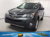 Magnetic Gray Metallic 2014 Toyota RAV4 Limited AWD