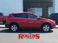 This 2014 Toyota RAV4 has a L4, 2.5L high output