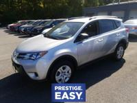 RAV4 LE, 4D Sport Utility, 6-Speed Automatic, AWD, ABS