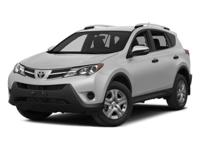 RAV4 LE, 6-Speed Automatic, and AWD. Jet Black! An