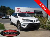 ONE OWNER!! 2014 TOYOTA RAV4 LE!! AWD, 2.5L, TOYOTA