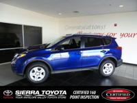 Check out this certified 2014 Toyota RAV4 LE. Its