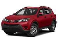 Step into the 2014 Toyota RAV4! An awesome price