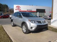 2014 Toyota RAV4 Certified. CARFAX One-Owner. Odometer