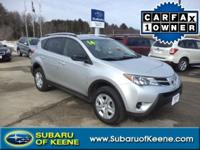 Take command of the road in the 2014 Toyota RAV4!