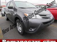 Introducing the 2014 Toyota RAV4! Worthy equipment and