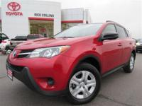 Back-up camera and Bluetooth!! This 2014 Toyota Rav4